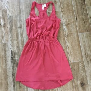 Orangy Coral Summer Dress